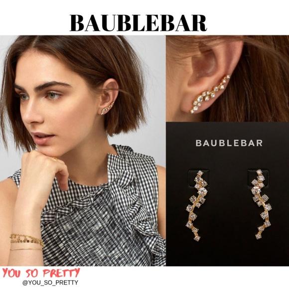 BaubleBar Jewelry - BaubleBar Farah Ear Crawlers